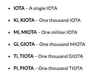 IOTA Units