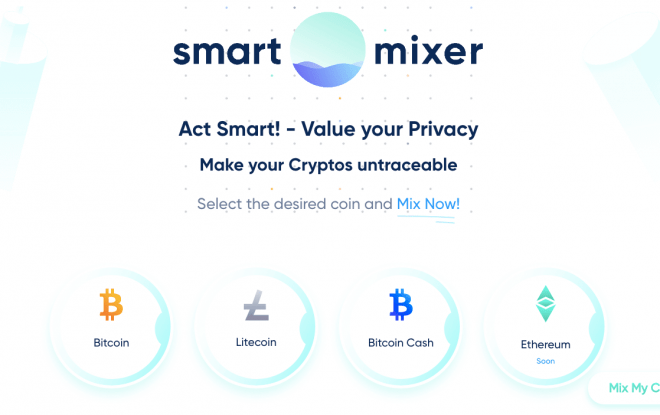 SmartMixer main page