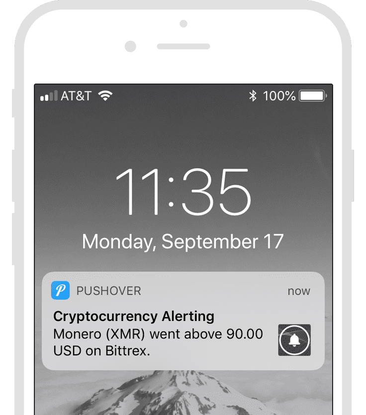 Cryptocurrency price alerts browser assin