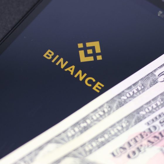 cashout on Binance
