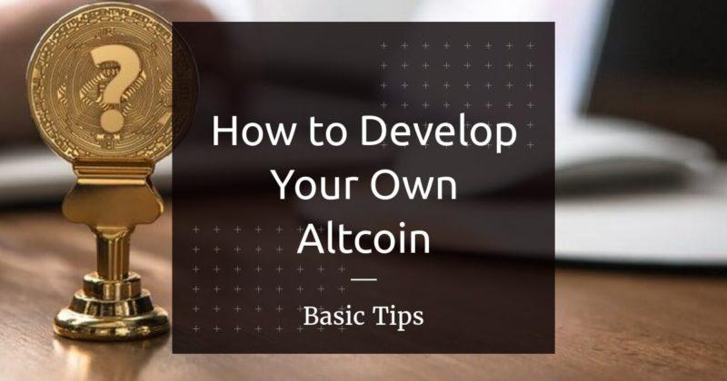 own altcoin