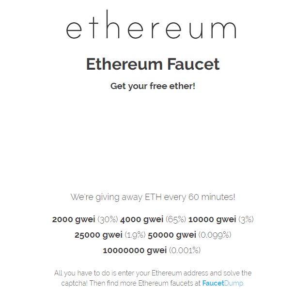 TOP-6 Best Ethereum Faucet List 2019 - Cryptalker