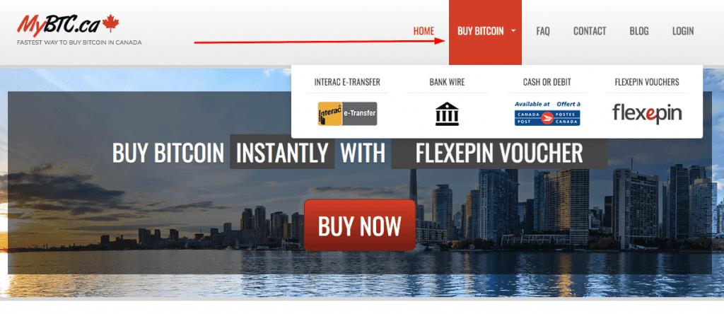 mybtc.ca buy Bitcoin