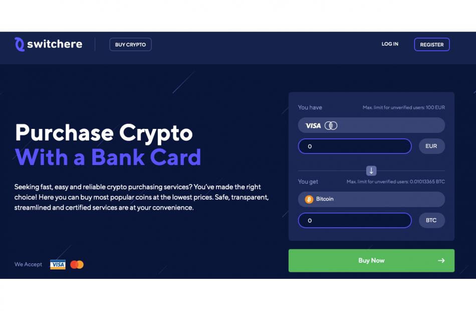 Switchere main page