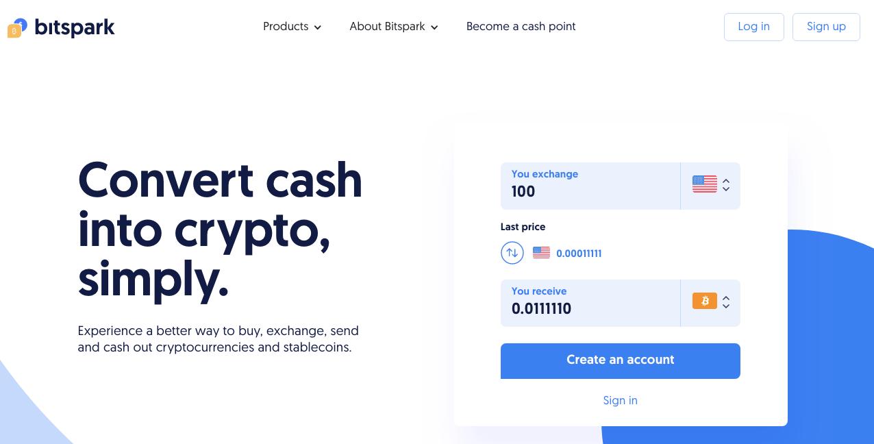Bitspark homepage