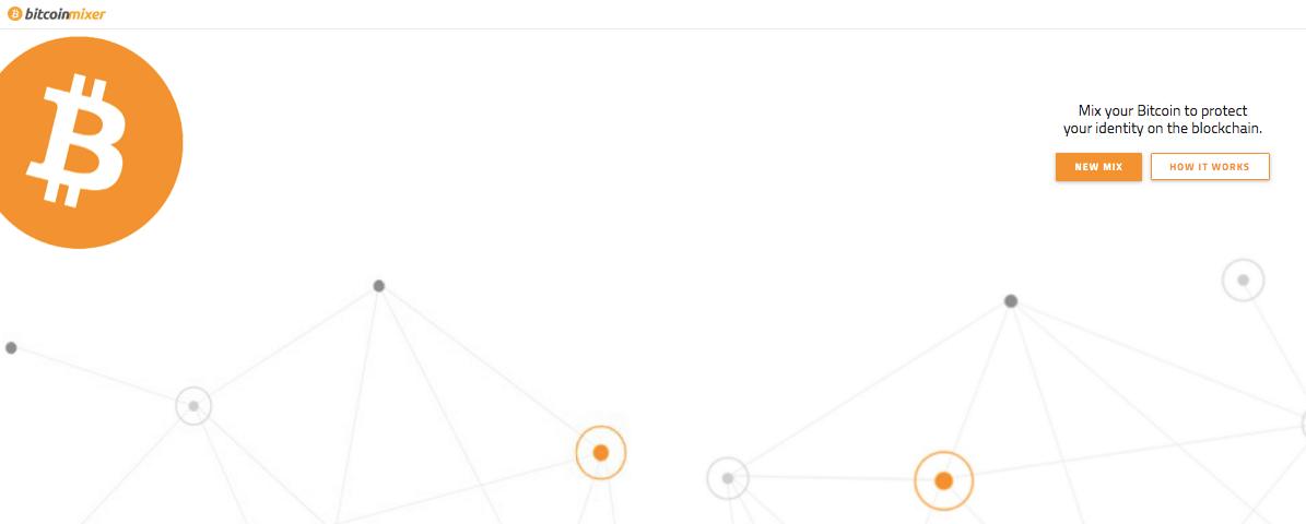 BitcoinMixer home page