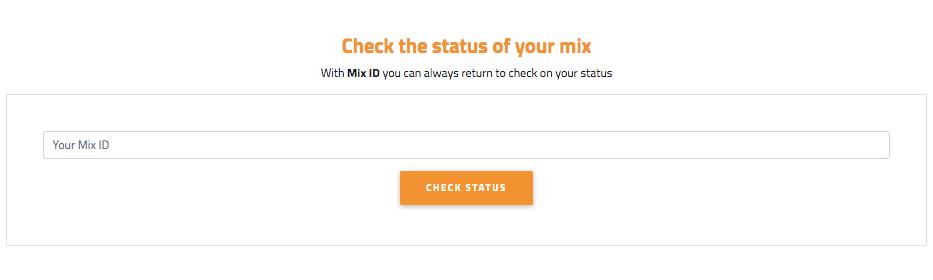 BitcoinMixer mixing status